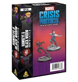 Asmodee Marvel Crisis Protocol Hawkeye and Black Widow