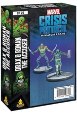 Atomic Mass Games Marvel CP: Drax and Ronan the Accuser