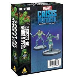 Asmodee Marvel Crisis Protocol Drax and Ronan the Accuser