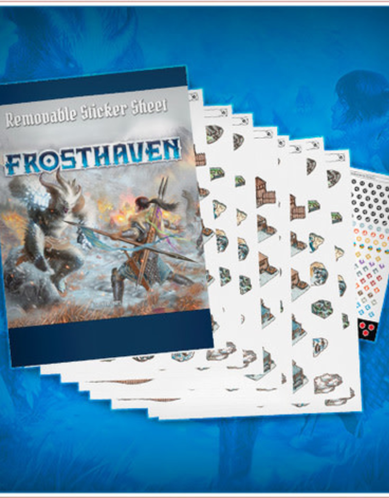 Cephalofair Games Frosthaven Removable Sticker Set [Preorder]