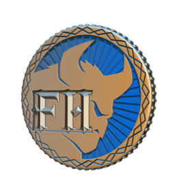 Cephalofair Games Frosthaven Challenge Coin [Preorder]