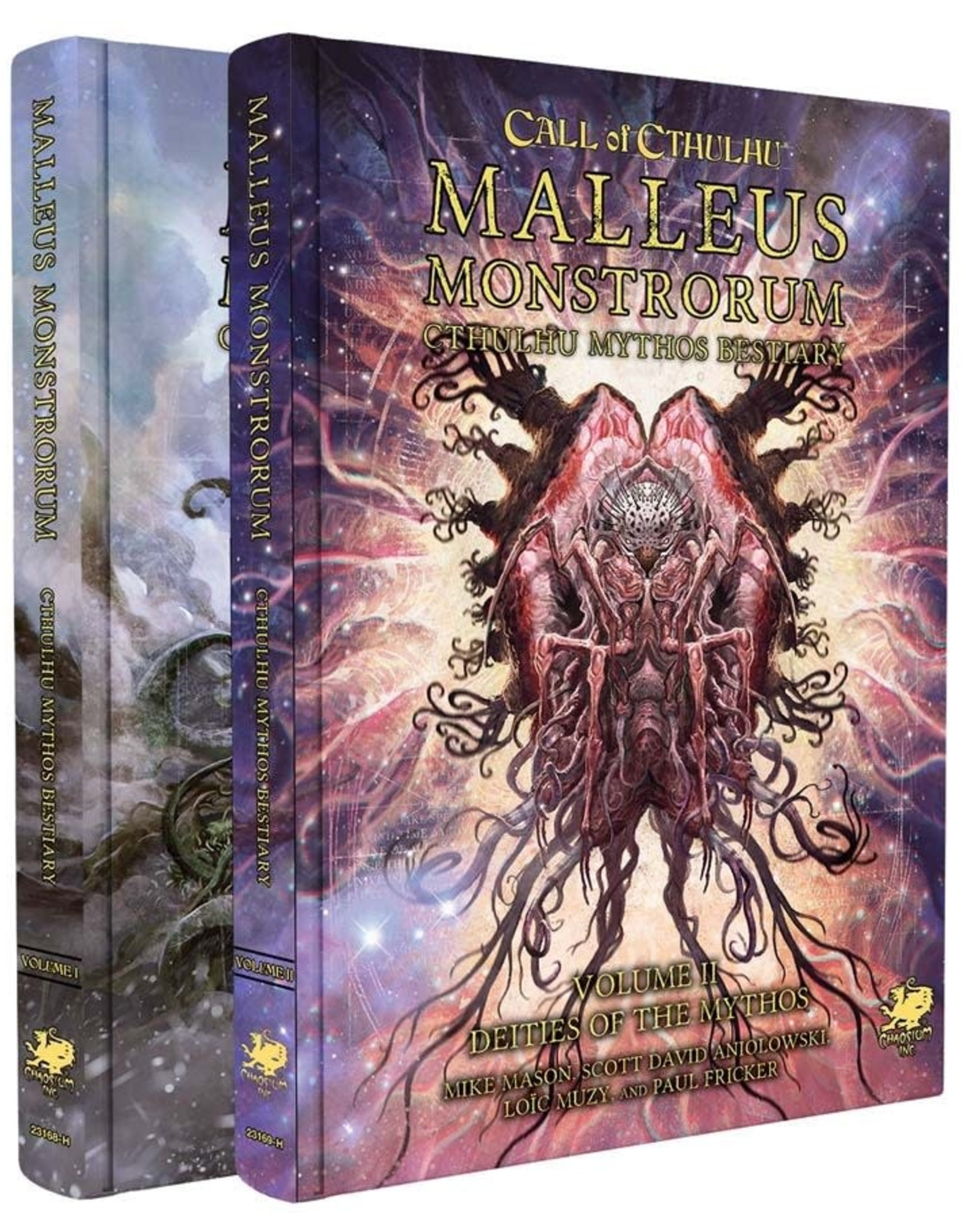 Chaosium Call of Cthulhu: Malleus Monstrorum Cthulhu Mythos Bestiary Two Volume Slipcase Set [Preorder]