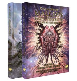 Chaosium Call of Cthulhu: Malleus Monstrorum Cthulhu Mythos Bestiary Two Volume Slipcase Set [Preorder]