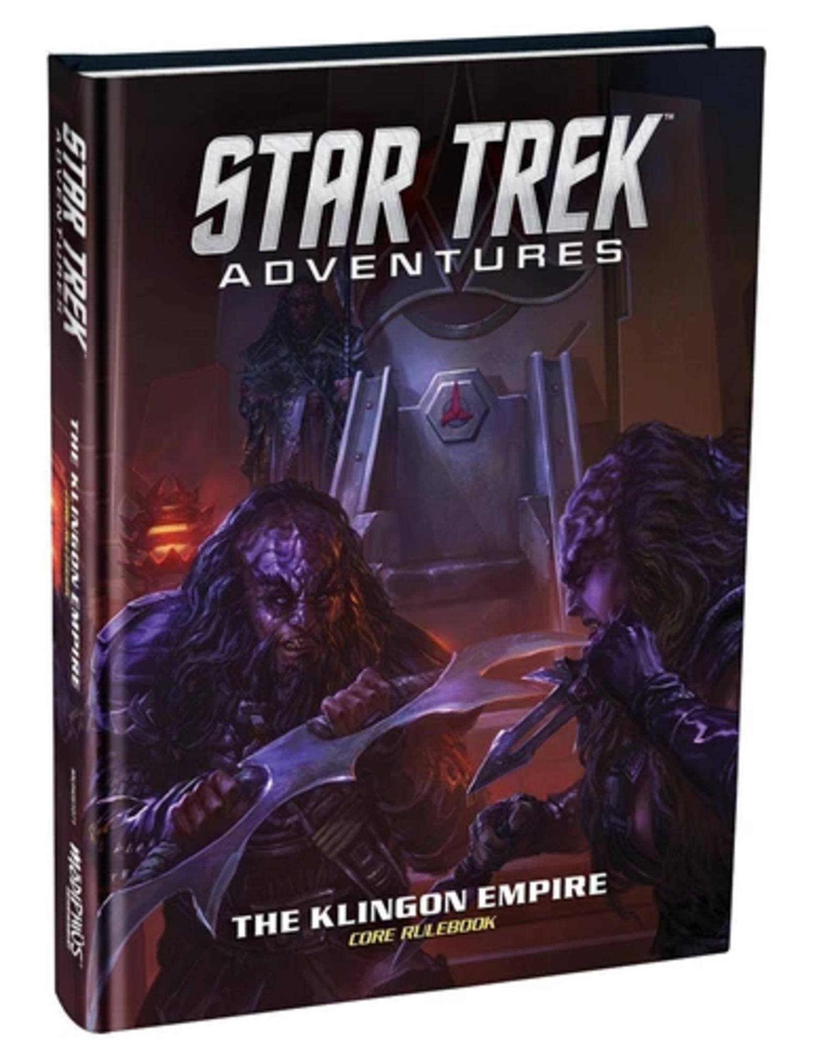 Modiphius Star Trek Adventures RPG: Klingon Empire Core Book