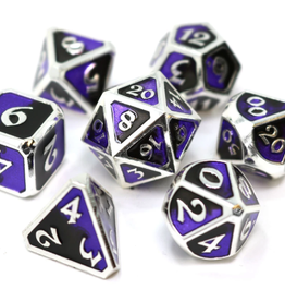 Die Hard Dice Metal Dice 7 Set Dark Arts Malice