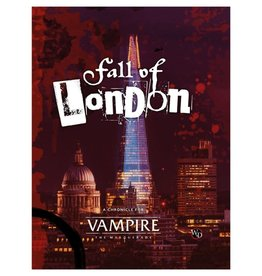 Modiphius Vampire The Masquerade 5th: Fall of London