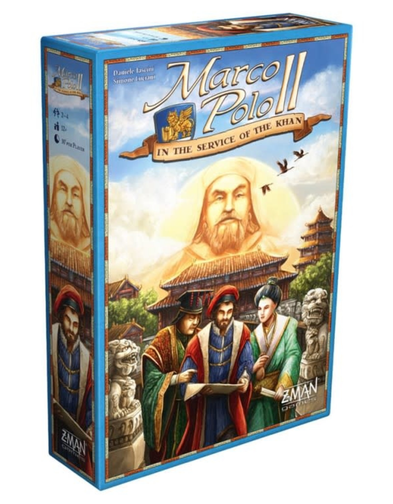 Z-Man Games Marco Polo II:In the Service of the Khan