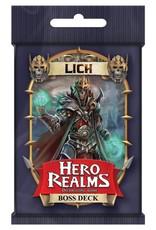 White Wizard Games Hero Realms: Lich Boss Deck