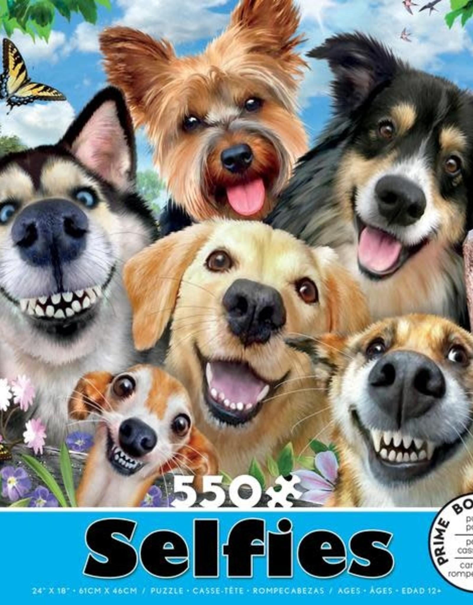 CEACO 550 pc puzzle - Selfies - Dog Delight