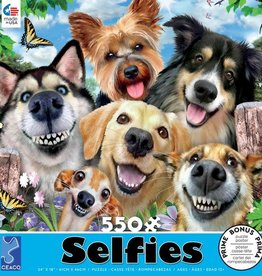 CEACO 550 pc puzzle - Selfies - Dog Delight