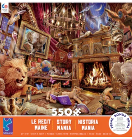 CEACO 550 pc puzzle - Story Mania