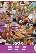 CEACO 550 pc puzzle - Chef Mania