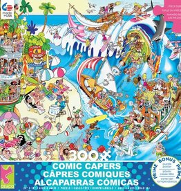 CEACO 300 pc puzzle - Comic Capers - The Wave