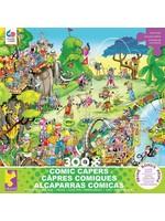 CEACO 300 pc puzzle - Comic Capers - Golf Safari