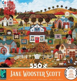 CEACO 550 pc puzzle - Jane Wooster Scott - Autumn's Palette