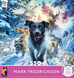 CEACO 550 pc puzzle - Mark Fredrickson - Black Lab