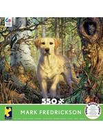 CEACO 550 pc puzzle - Mark Fredrickson - Yellow Lab