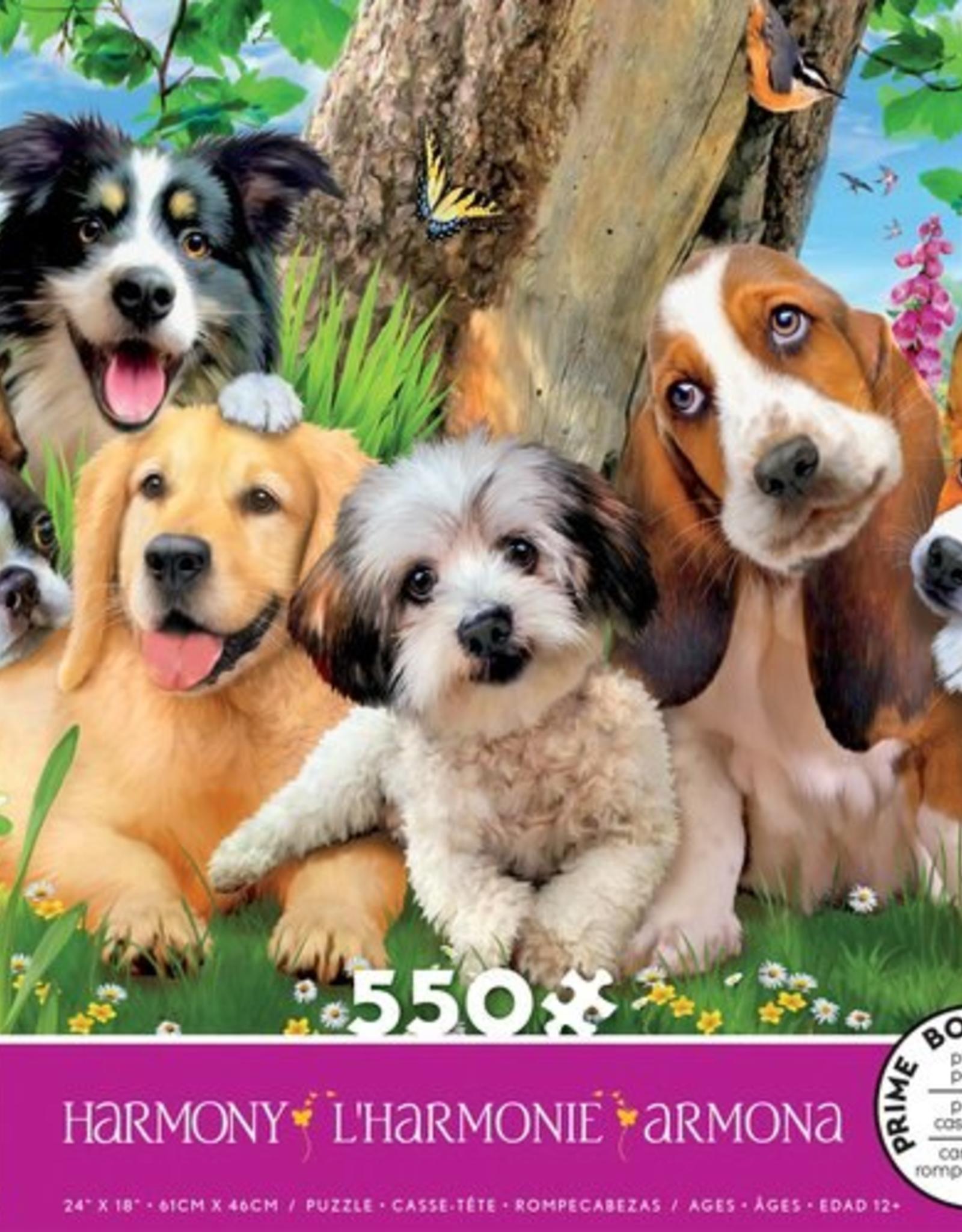 CEACO 550 pc puzzle - Harmony - Puppy Pals