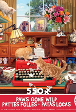 CEACO 550 pc puzzle - Paws Gone Wild - Writer's Block