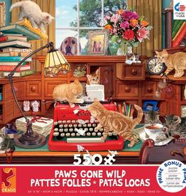 CEACO 550 pc puzzle - Paws Gone Wild - Writer's Block