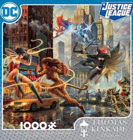 CEACO 1000pc puzzle - DC Comics Thomas Kinkade - The Women of DC