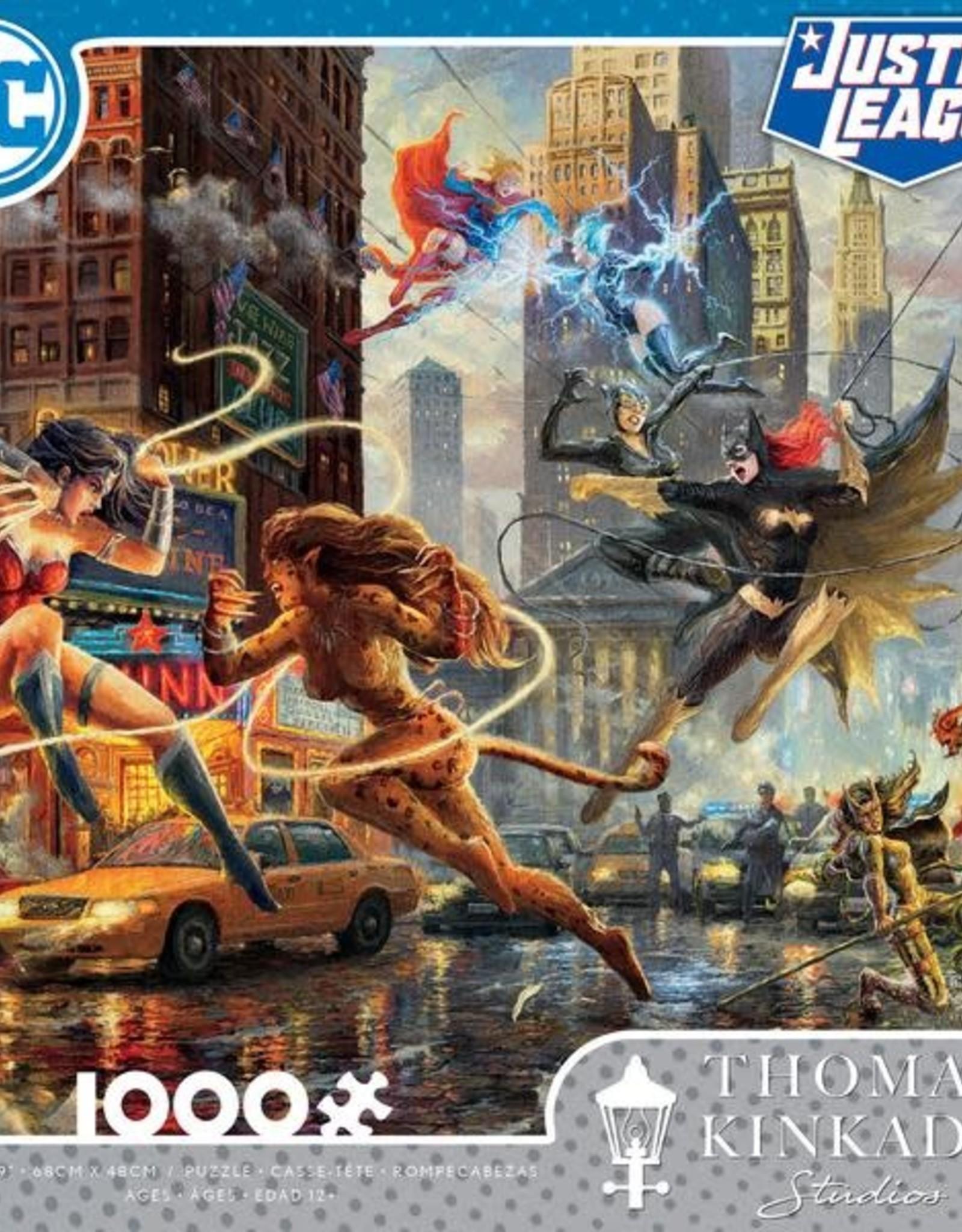 CEACO 1000pc puzzle - DC Comics Thomas Kinkade - The Women of DC