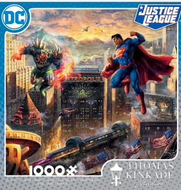 CEACO 1000pc puzzle - DC Comics Thomas Kinkade - Superman: Man of Steel