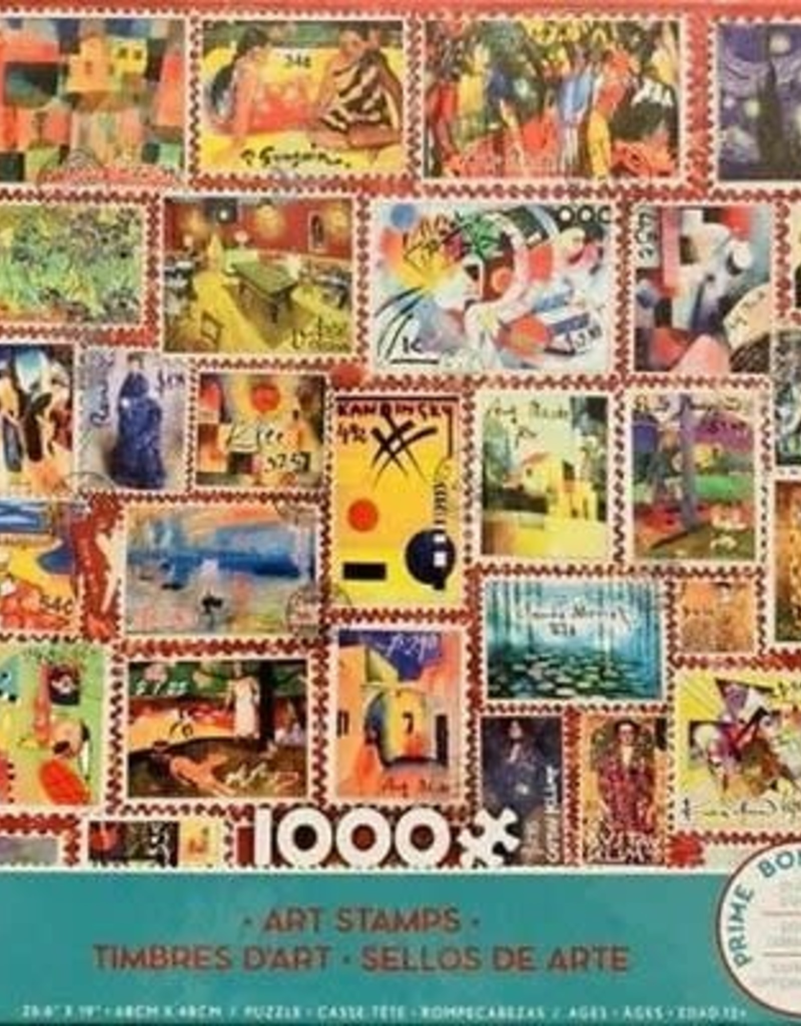 CEACO 1000pc puzzle - Art Stamps