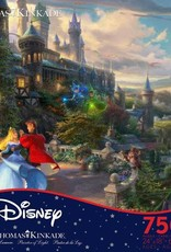 CEACO 750 pc puzzle - Thomas Kinkade Disney - Sleeping Beauty Enchanting