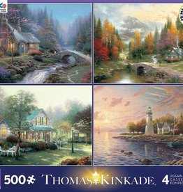 CEACO 4x 500pc puzzle collection - Thomas Kinkade