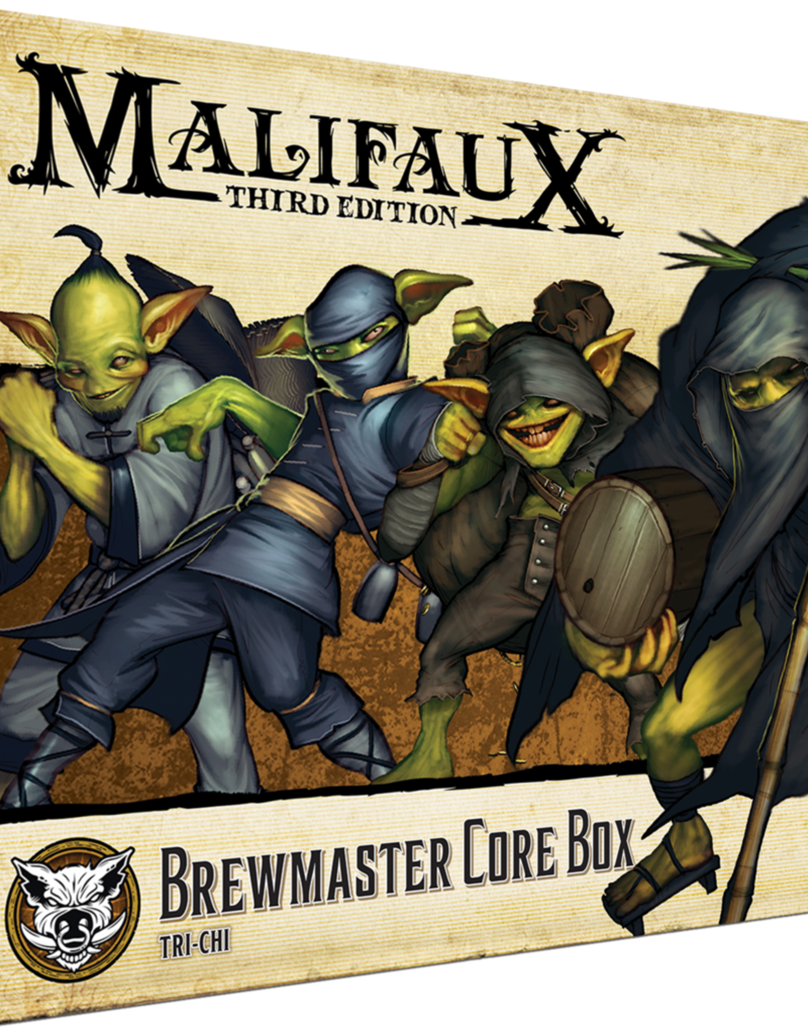 Wyrd Malifaux Brewmaster's Core Box