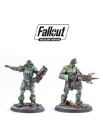 Modiphius Fallout Wasteland Warfare Super Mutants Overlord and Fist