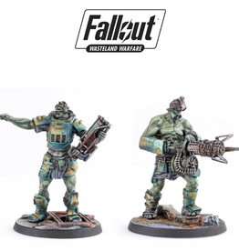 Modiphius Fallout Wasteland Warfare Super Mutants Overlord and Fist