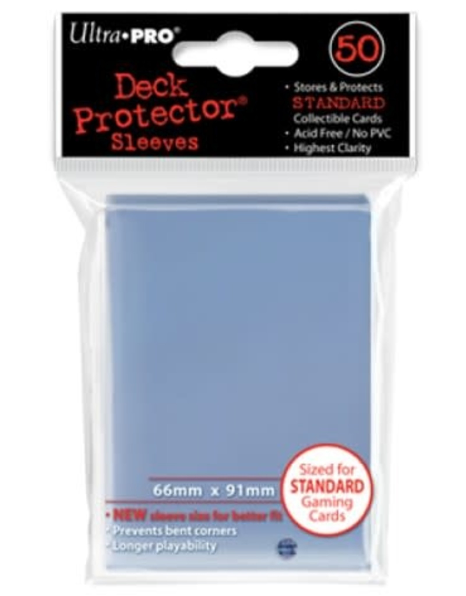 Ultra Pro Deck Protector Sleeves Clear (50)