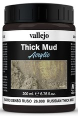 VALLEJO Diorama Effects: Thick Mud: Russian Mud (200 ml)