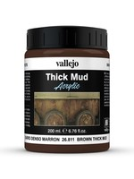 VALLEJO Diorama Effects: Thick Mud: Brown Mud (200 ml)