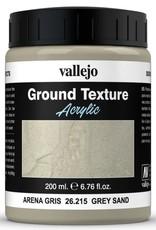 VALLEJO Diorama Effects: Ground Texture: Grey Sand (200 ml)