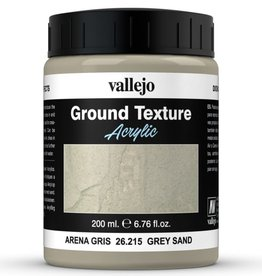 VALLEJO Diorama Effects: Ground Texture: Grey Sand (200 ml)