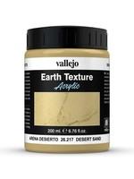 VALLEJO Diorama Effects: Earth Texture: Desert Sand (200 ml)