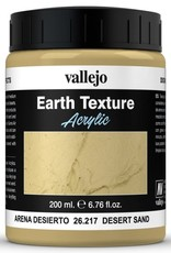 VALLEJO Diorama Effects: Earth Texture: Desert Sand (200 ml)