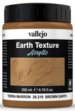 VALLEJO Diorama Effects: Earth Texture: Brown Earth (200 ml)