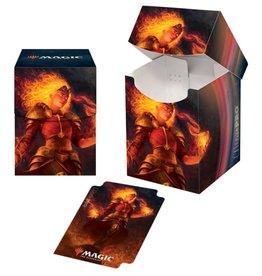 Ultra Pro Deck Box: PRO 100+ MtG: Core 2021 V4 - Chandra