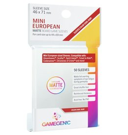 Gamegenic MATTE Sleeves: Mini European