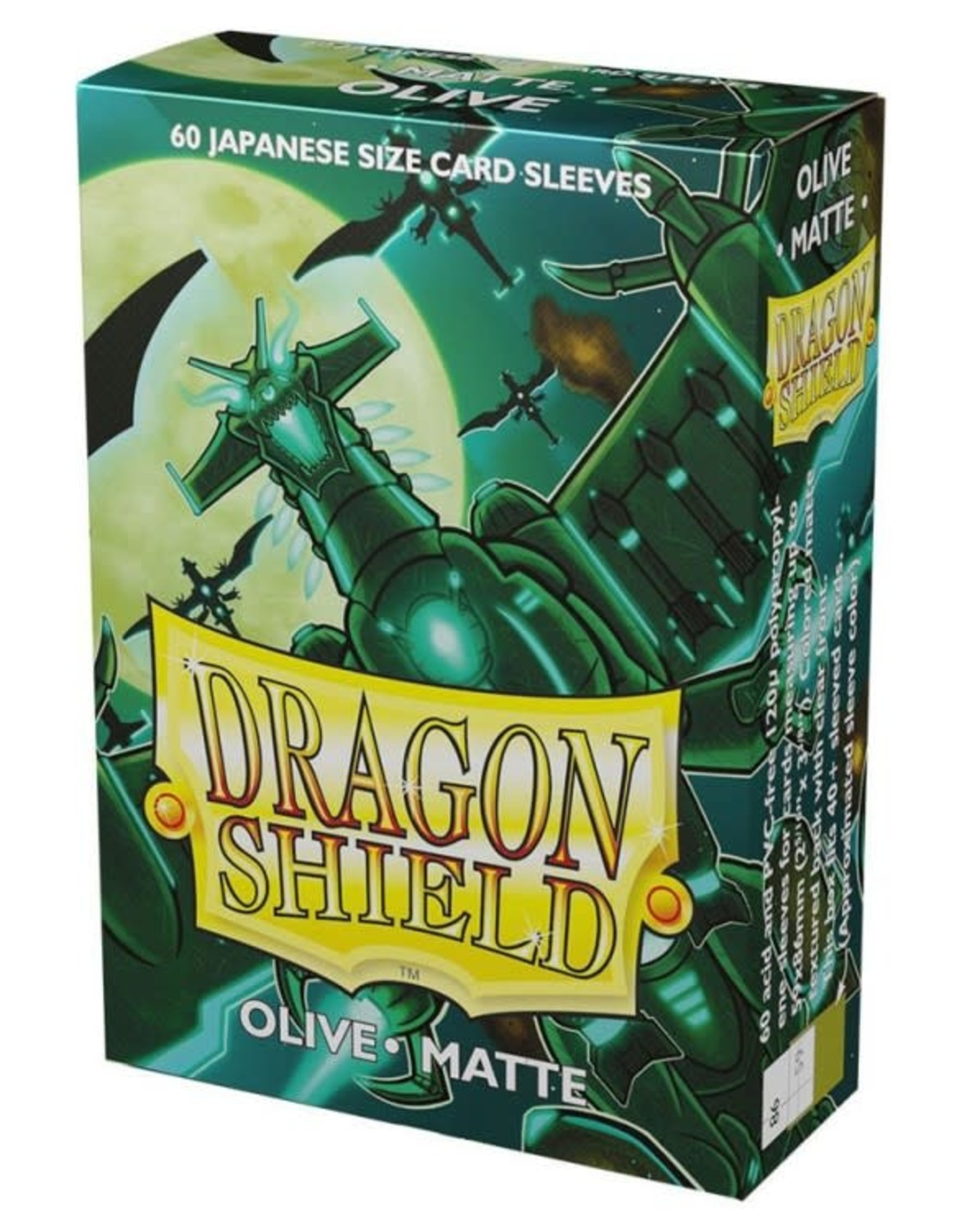 Arcane Tinmen Dragon Shield Japanese Matte Olive (60)