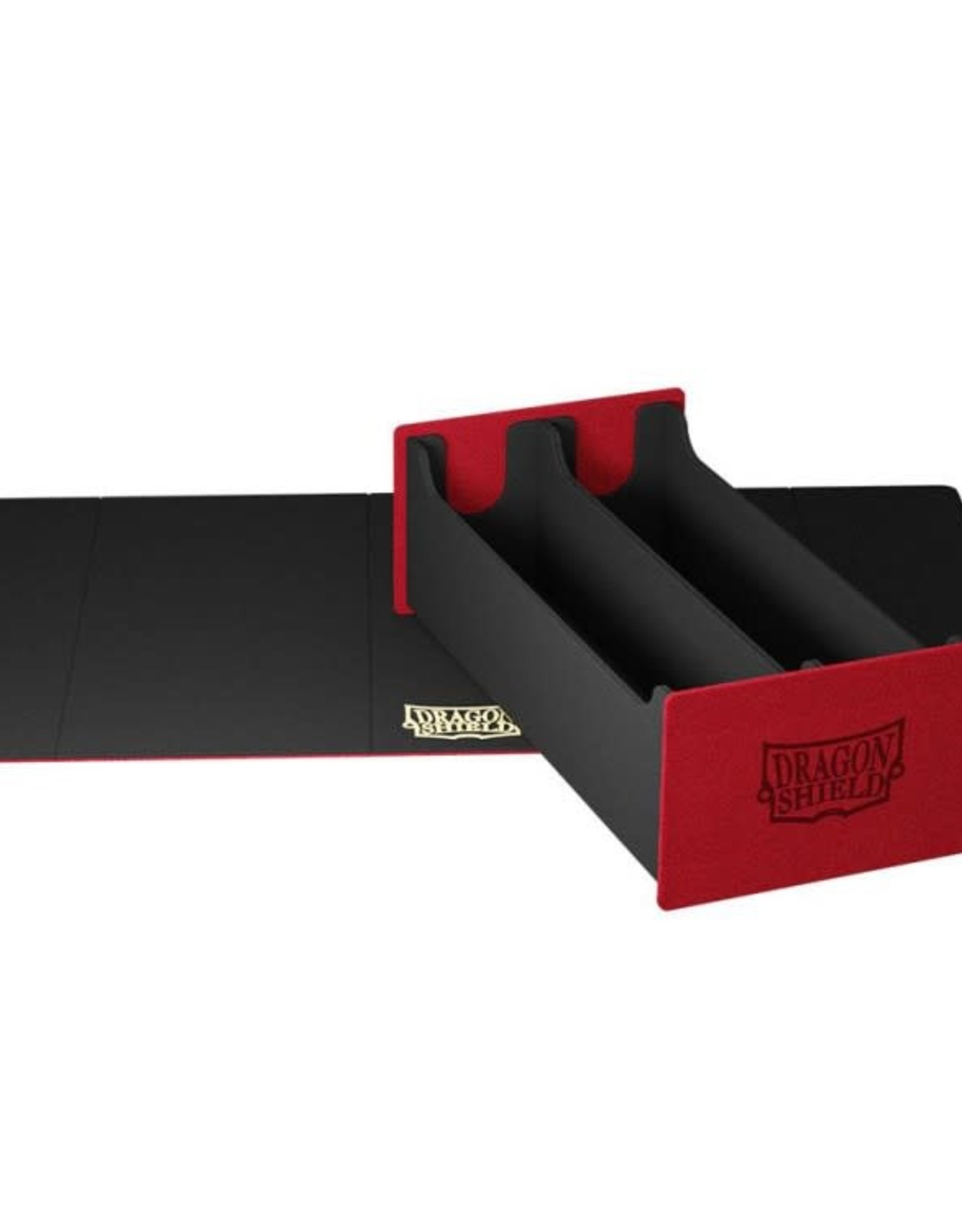 Arcane Tinmen Dragon Shield Deck Box: Magic Carpet XL Red w/ Black