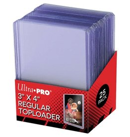 Ultra Pro TopLoader: 3X4 CL Regular (25)