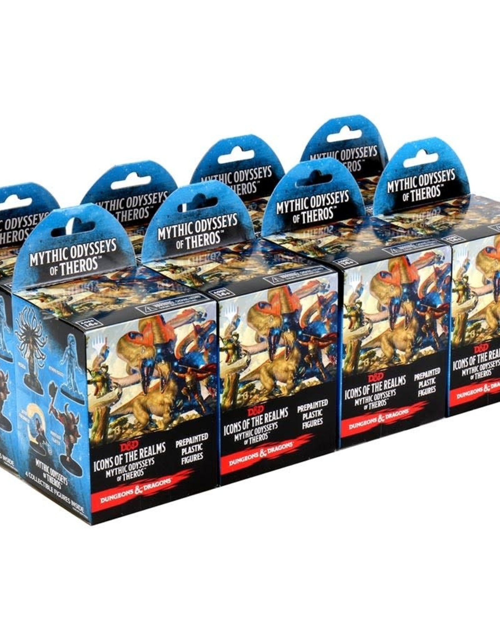 WizKids D&D Icons of the Realms: Mythic Odysseys of Theros 8ct Blister set