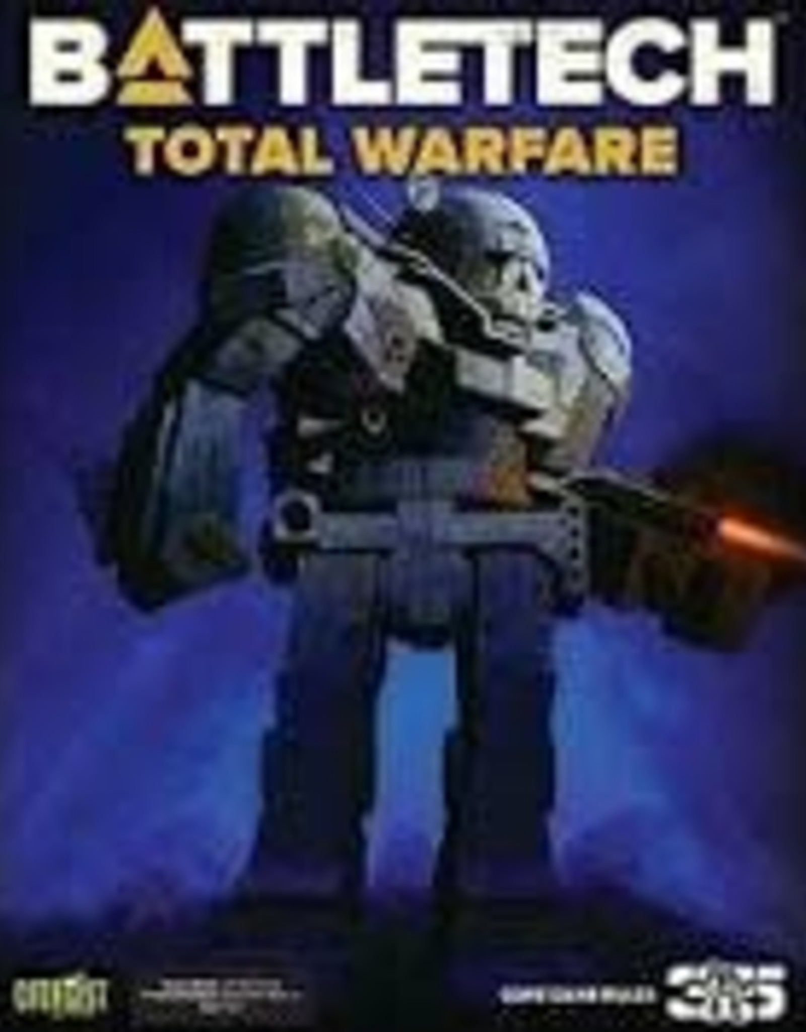 CATALYST GAME LABS BT: Total Warfare (revised)