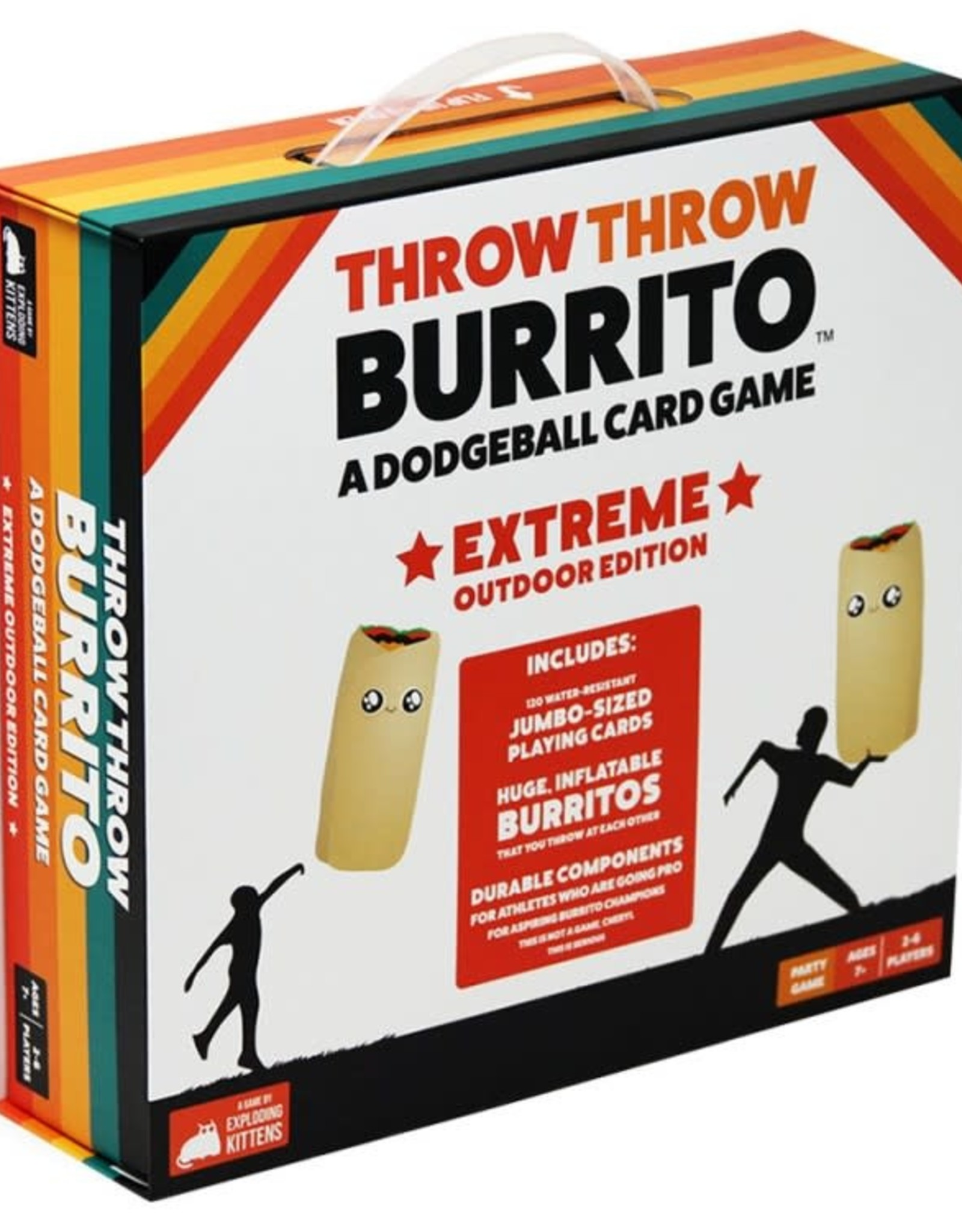 Exploding Kittens Throw Throw Burrito: Extreme Outdoor Edition