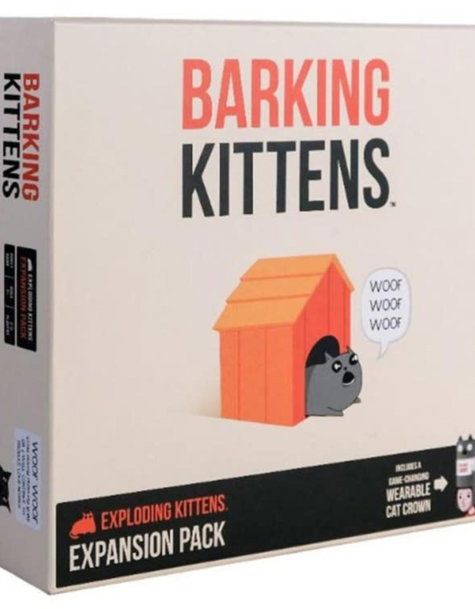 Exploding Kittens Barking Kittens: An Exploding Kittens Expansion